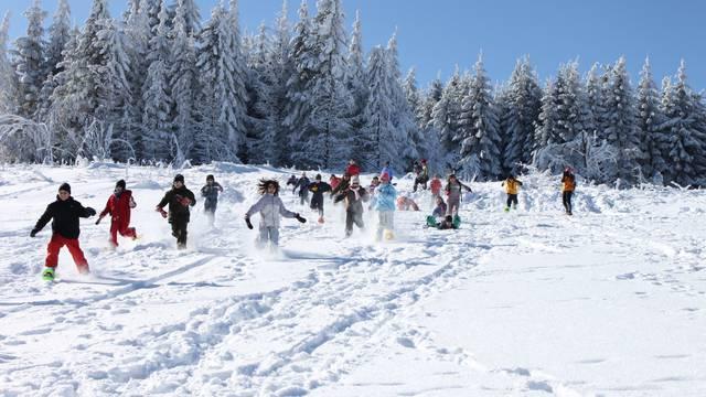 neige et ski dans le Pilat