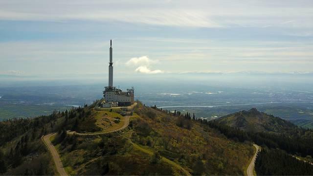 Antenne du mont Pilat