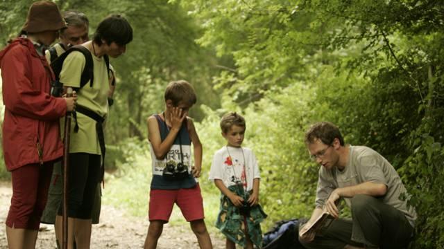 En famille dans le Parc du Pilat