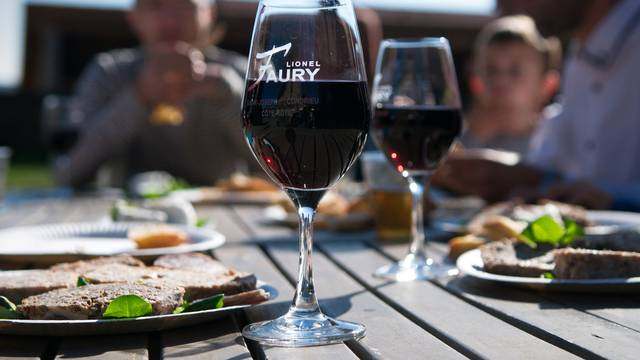 Restaurant dans le parc du Pilat