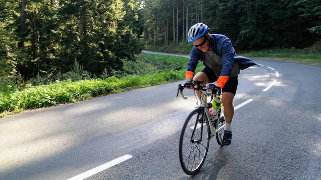 cyclisme Pilat Itinéraire vélo à proximité de St Etienne
