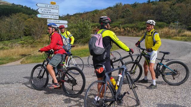 vélo vtt cyclo parc du pilat proche lyon