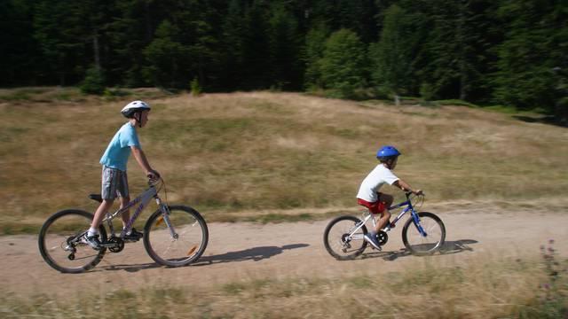 circuits parcours vtt pilat famille vélo