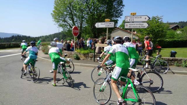 cyclisme, Parc du Pilat