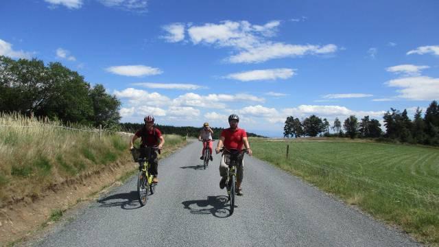 Accompagnateurs vélo/VTT, Pilat