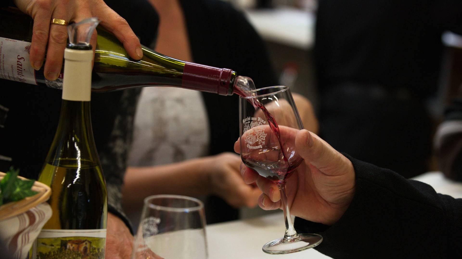 marché aux vins Rhône