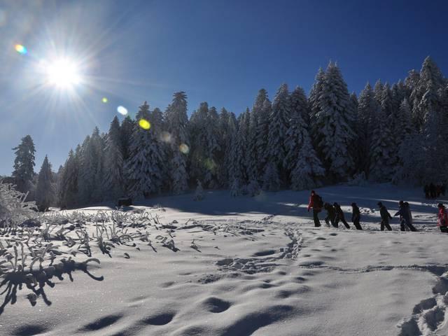 bougez monts pilat hiver