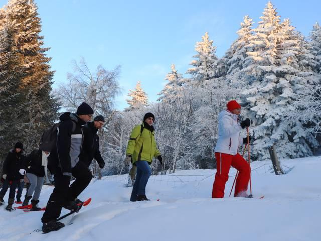 festi raquettes pilat saint regis du coin neige hiver