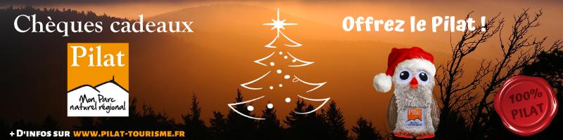 Chèques cadeaux pilat un cadeau de Noël 100% local
