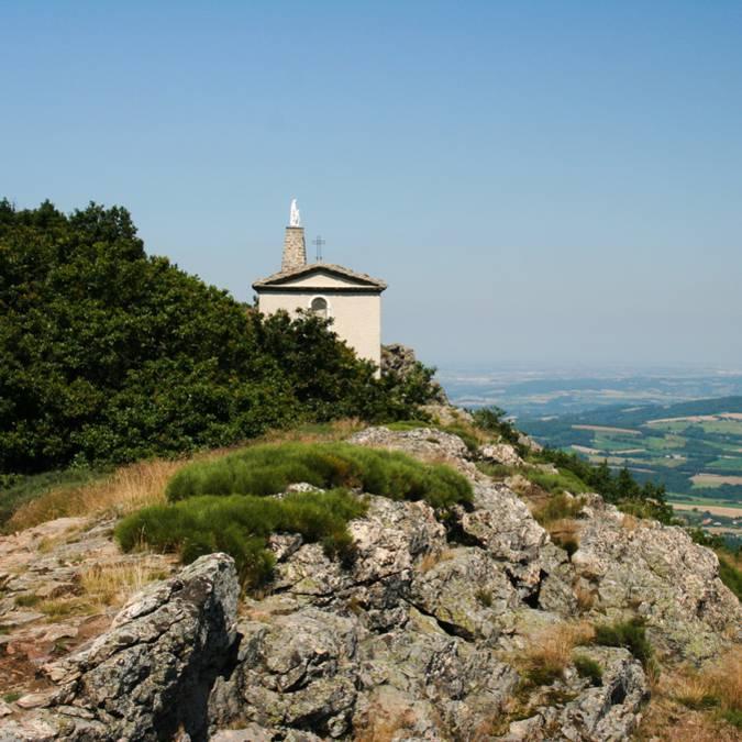 Randonnée pédestre au Mont Monnet, La Chapelle-Villars (42)