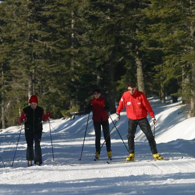 Pistes de ski de fond, Pilat.