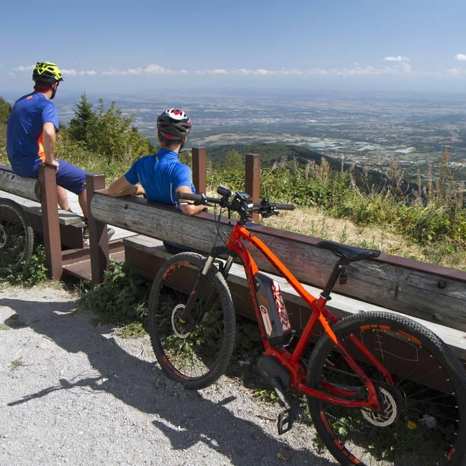circuits parcours itinéraires vttae vélo assistance électrique parc pilat loire