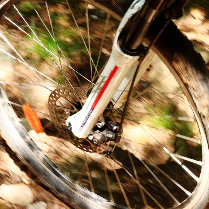 vélo tout terrain près de Lyon