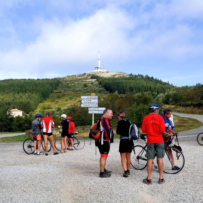 cols emblématiques Pilat Montée cyclo Oeillon cyclisme