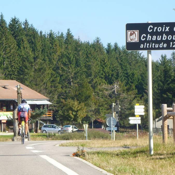 Chaubouret vélo pilat