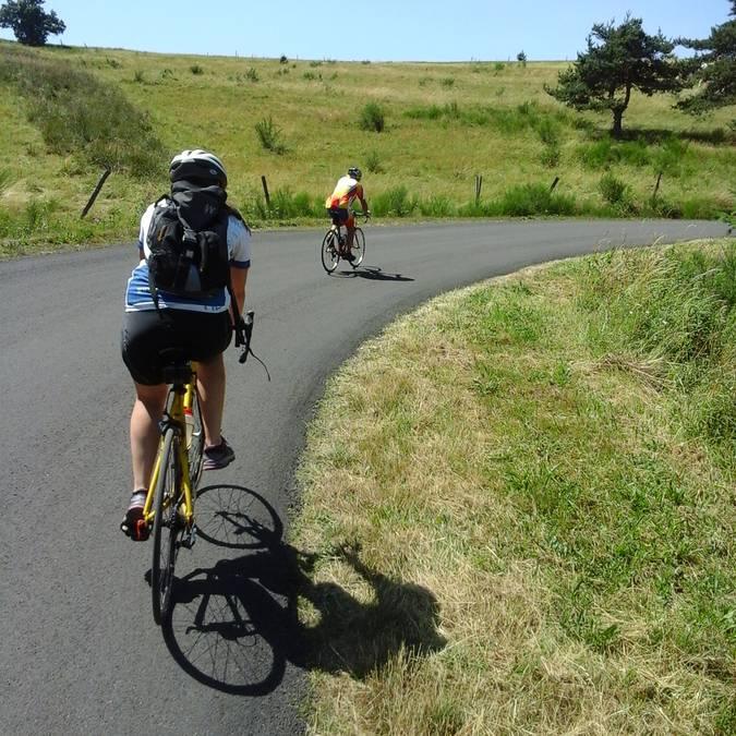 Les routes du Pilat à vélo